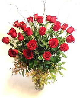 roseville florist valentines day roses two-dozen