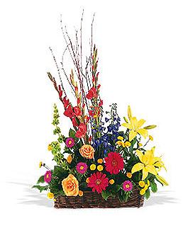 funeral-flowers-roseville-ca-basket