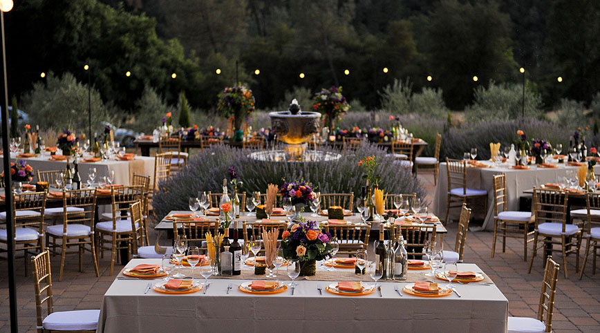 Villa Florentina Wedding Flowers Ambience Floral Design