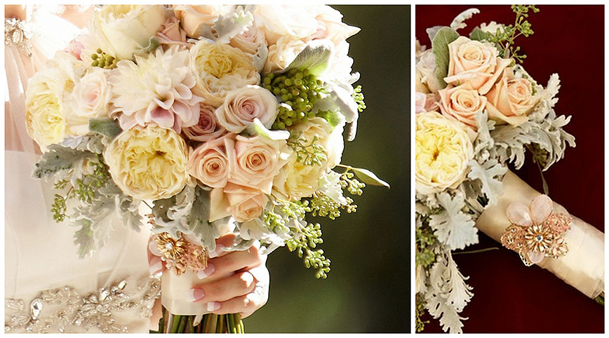 Sacramento Wedding Flowers - Bridal Bouquets - Ambience Floral Design